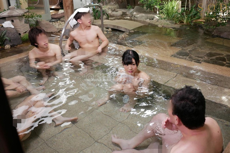 STAR-968 Will You Go Inside The Men's Bath Wearing Only